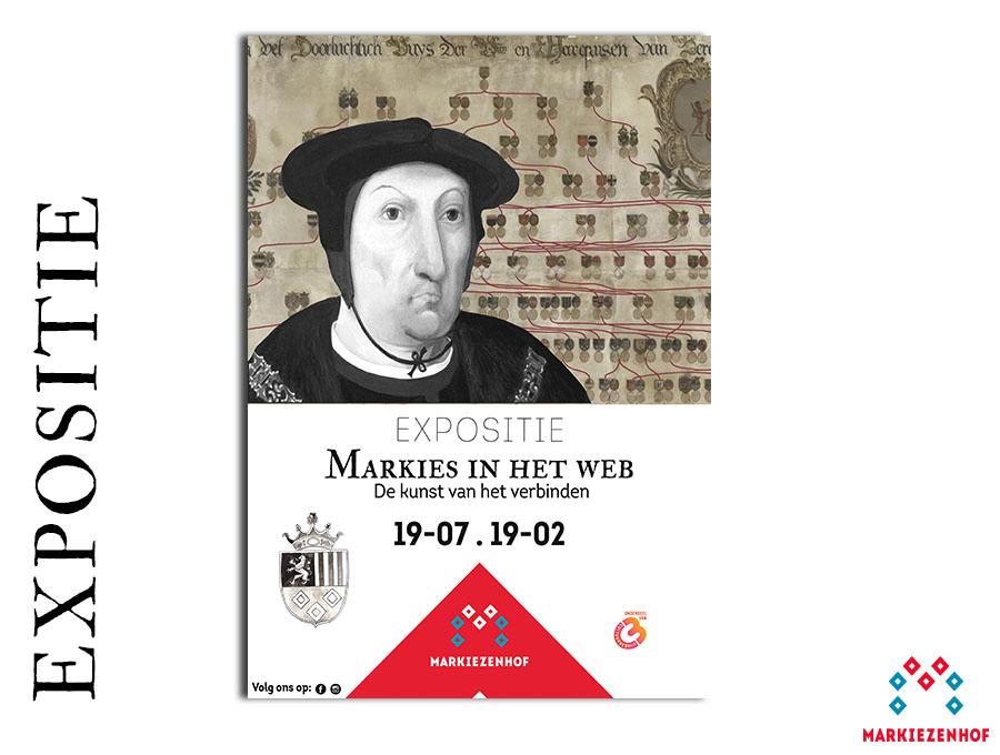 Expositie Markies in het Web