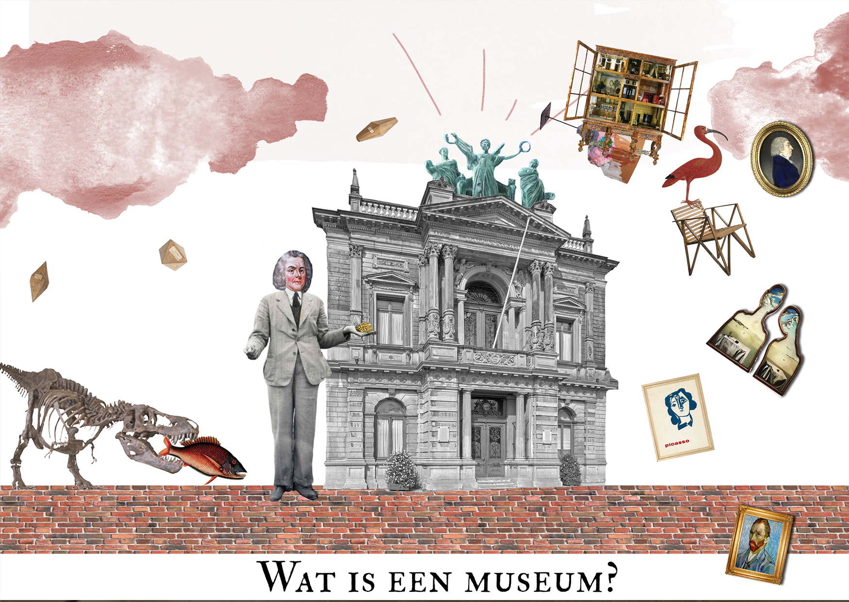Wat is een museum illustratie
