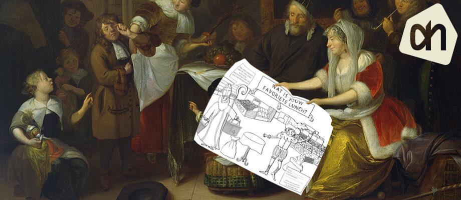 Sinterklaas kleurplaat Albert Heijn