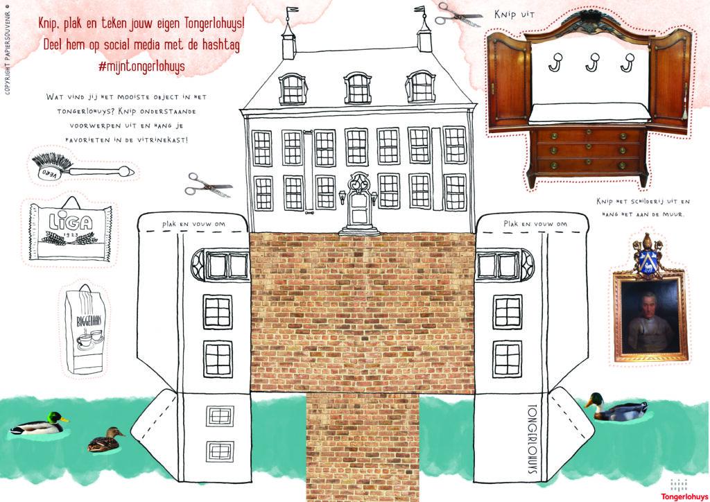 Bouwplaat Tongerlohuys Roosendaal