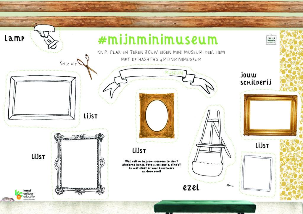 Bouwplaat minimuseum KCE